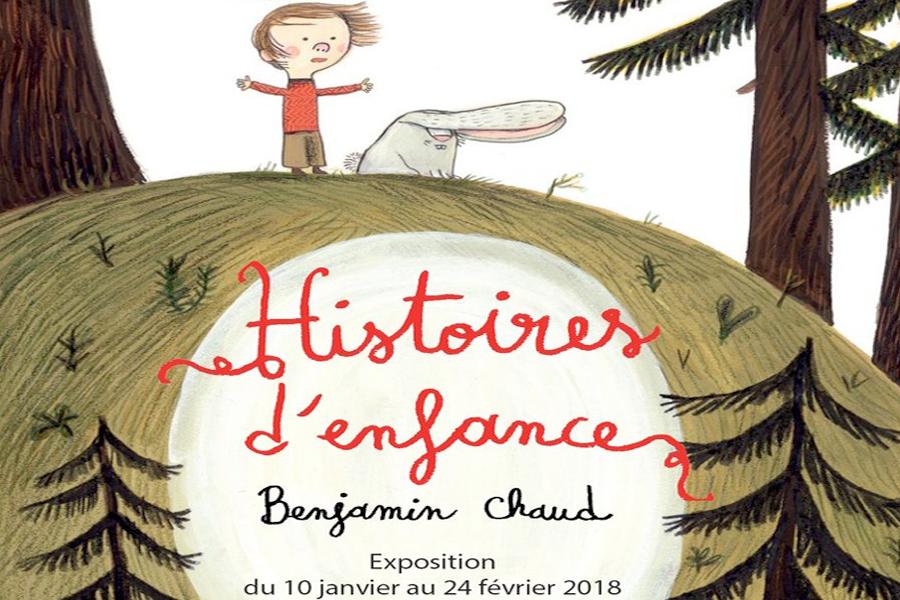 Histoires d'enfance, une exposition de Benjamin Chaud