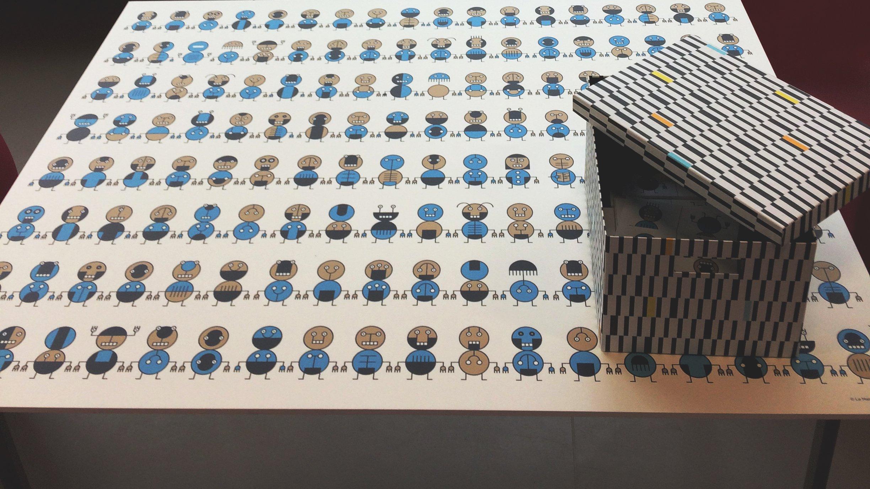 Exposition « Range tes cubes » autour de l'œuvre de Mathis