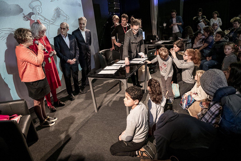 SLPJ - Salon du livre et de la presse jeunesse - Ateliers, rencontres, expositions, ambiances - 1 Décembre 2018 - Montreuil