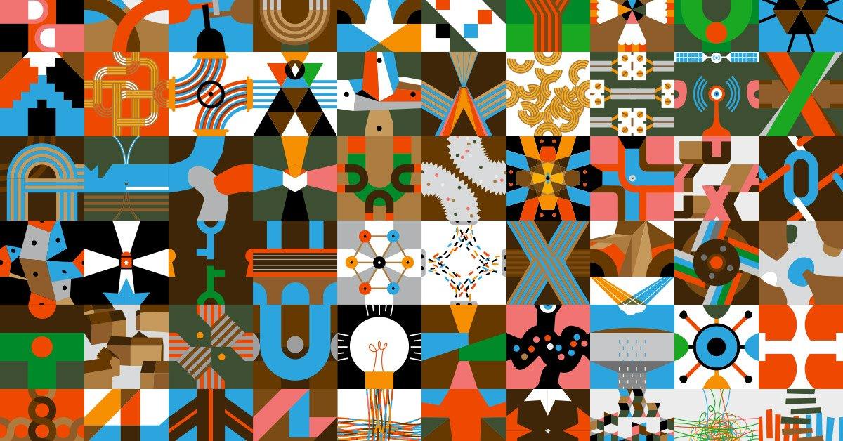 L'imagier des tuyaux, d'Olivier Douzou