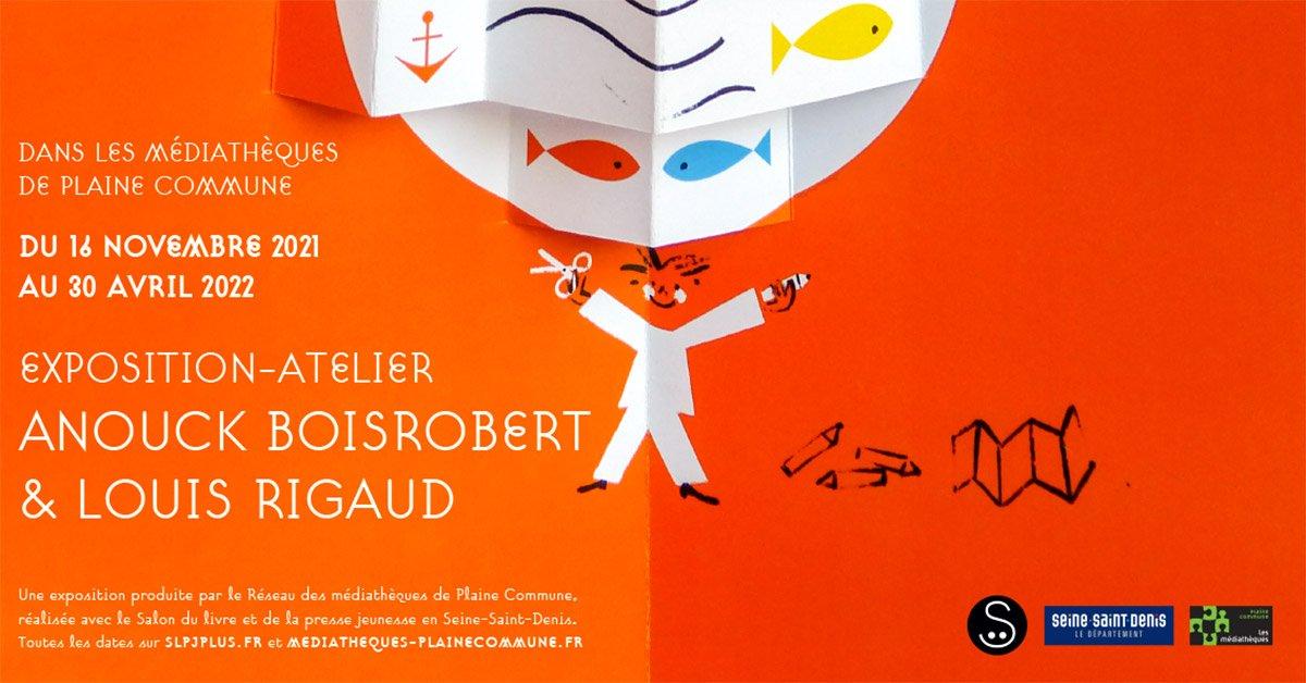« Hop ! », une exposition-atelier d'Anouck Boisrobert et Louis Rigaud