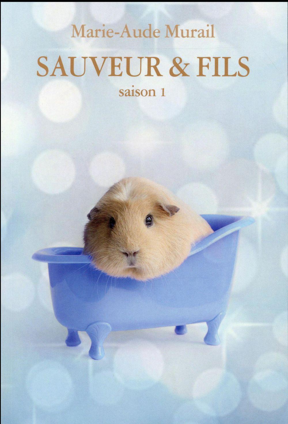 Pépites des lecteurs France Télévisions « Sauveur & Fils t.1 » de Marie-Aude Murail, (l'école des loisirs)