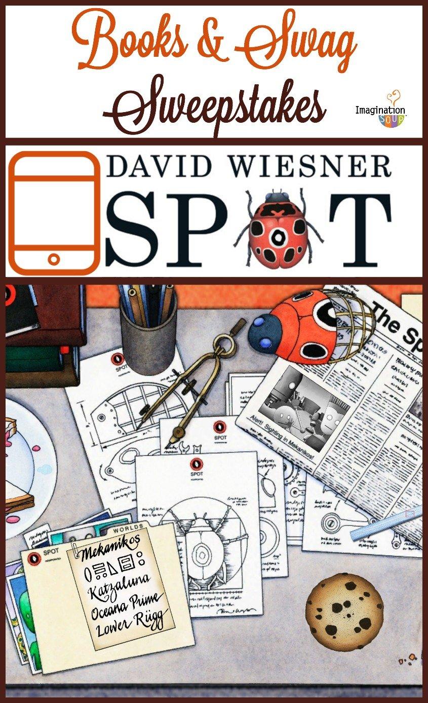La Pépite de la création numérique « David Wiesner's Spot » de David Wiesner, (Houghton Mifflin Harcourt, États-Unis)
