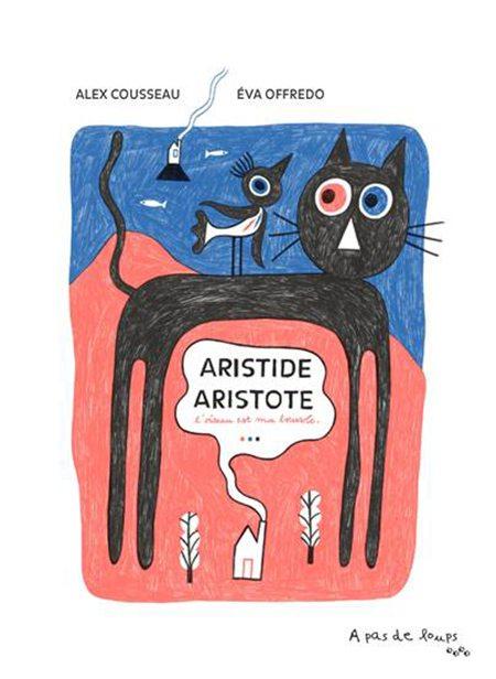 Aristide Aristote d'Alex Cousseau et Eva Offredo, À pas de loups