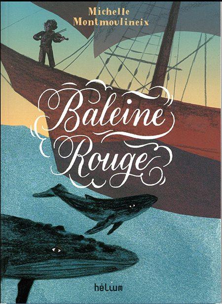 Baleine rouge de Michelle Montmoulineix, hélium