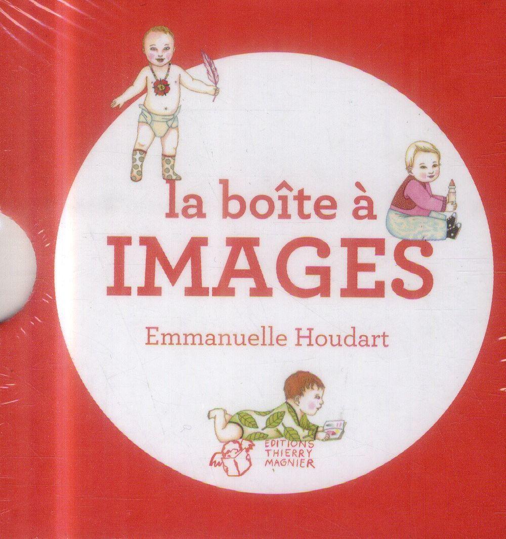 Pépite Petite Enfance  « La Boîte à images : Grrr ! Argh ! Areuh ! Miam ! » d'Emmanuelle Houdart, (Thierry Magnier)