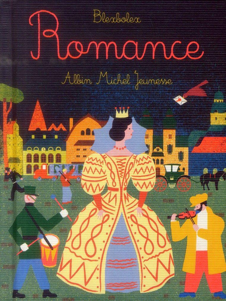 Pépite du Livre OVNI « Romance » de BlexBolex, (Albin Michel Jeunesse)