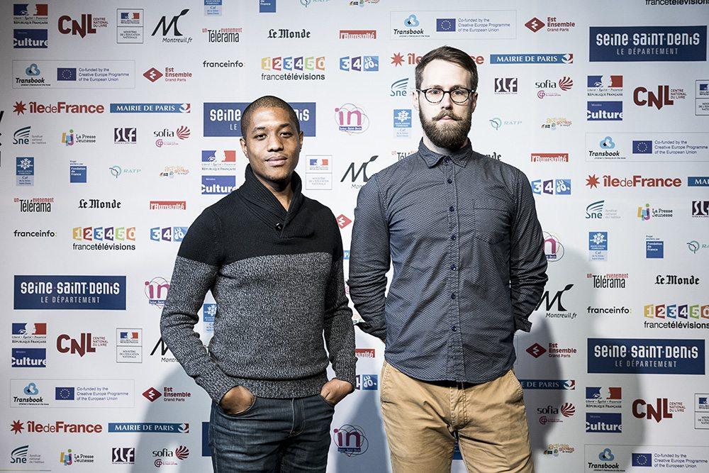 Jonathan Garnier et Rony Hotin (Momo, Casterman), lauréats de la Pépite
