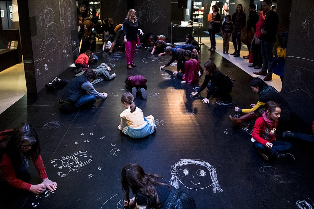 Atelier danse-dessin avec Kitty Crowther et le collectif Segni Mossi