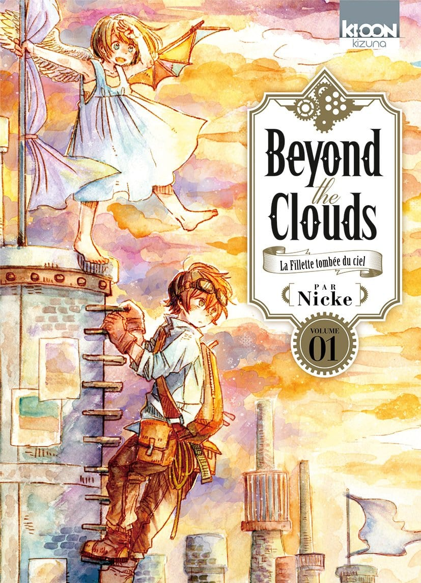 Beyond the Clouds vol 1, Nicke, traduit du japonais par Fédoua Lamodière, Ki-oon. BD