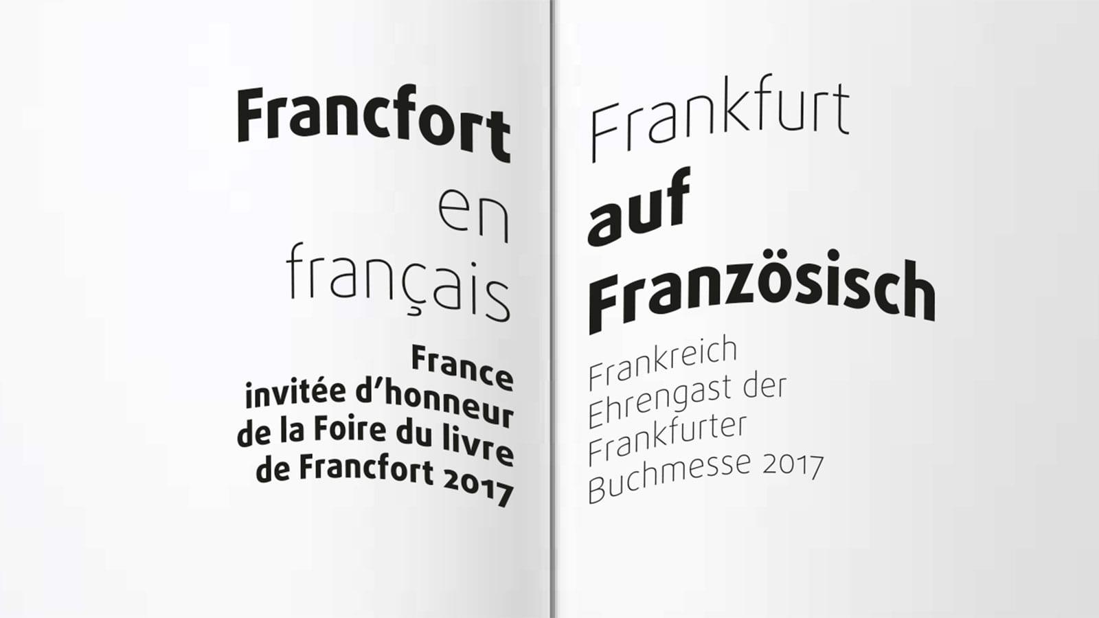 Francfort en français